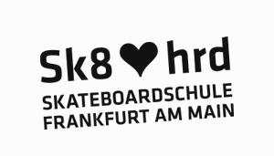 Skateboardschule Frankfurt - sk8hrd Logo